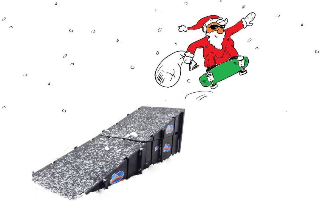 The Skater's Night Before Christmas